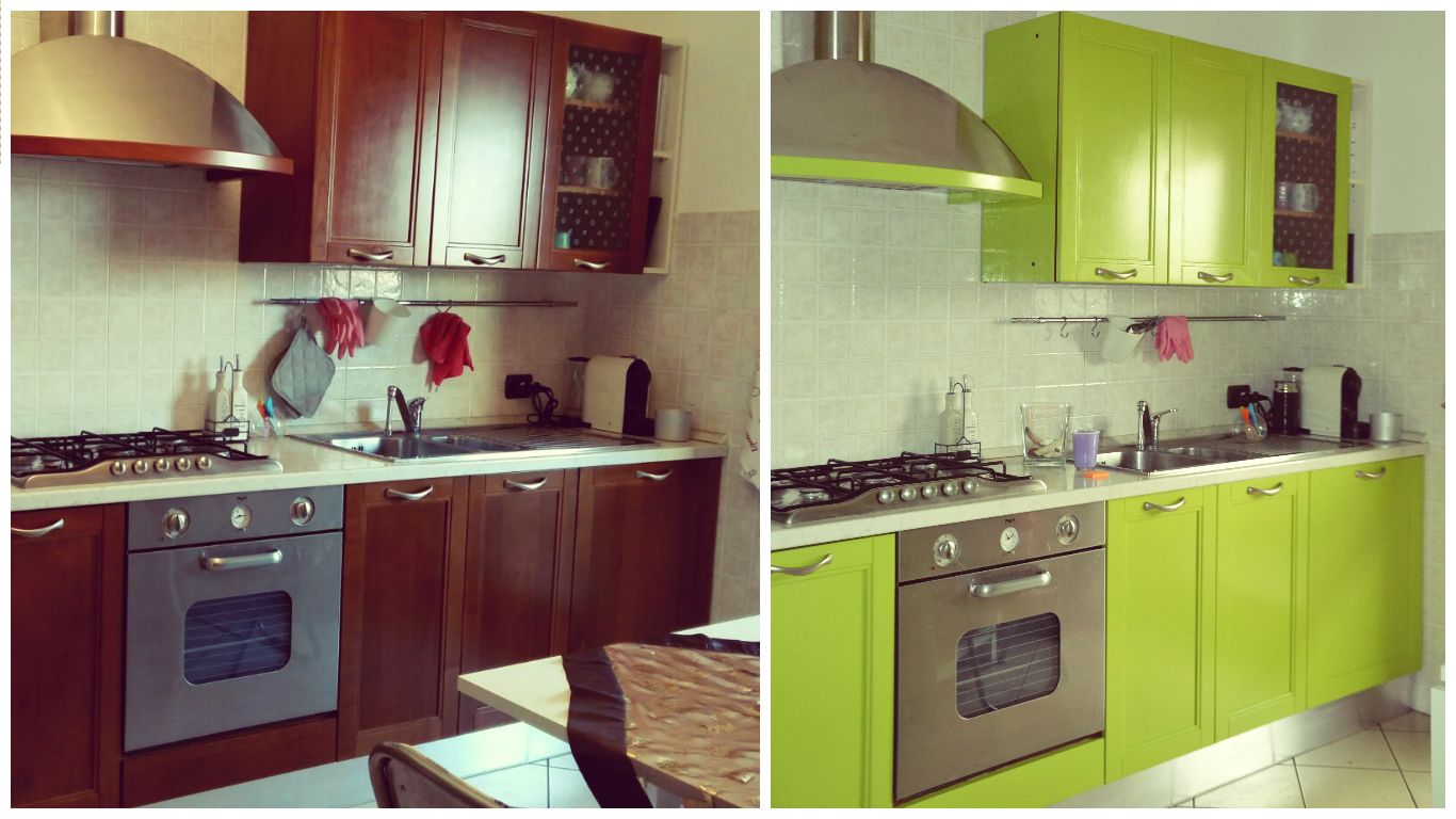 Verniciare Mobili Cucina. Cheap Cucine Recupero Cucine Vintage ...