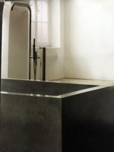 Cemento fai da te arriva la proposta di make design la coloratrice - Come lucidare una vasca da bagno opaca ...