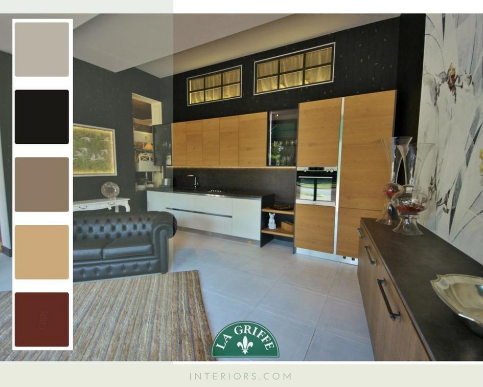 Pareti cucine colori e palette dallo stile industriale e - Colori pareti cucina ...