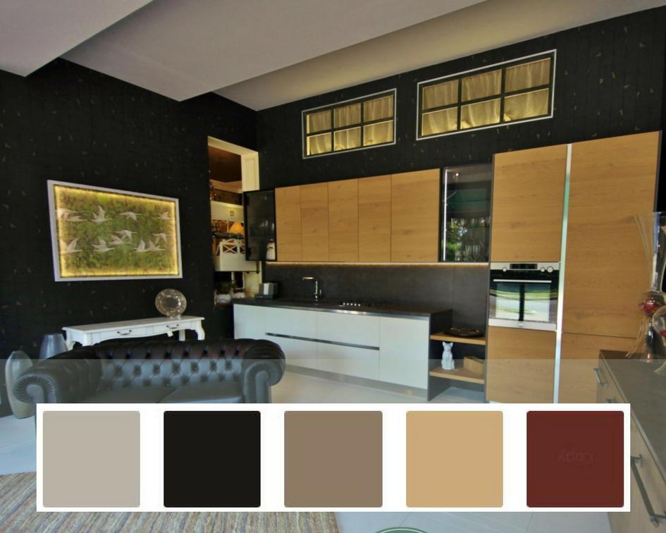 Pareti cucine colori e palette dallo stile industriale e for Pareti colorate moderne