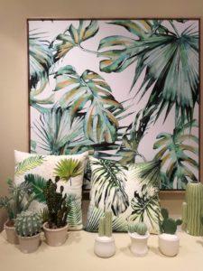 Cactus e Folodendri nelle decorazioni 2018