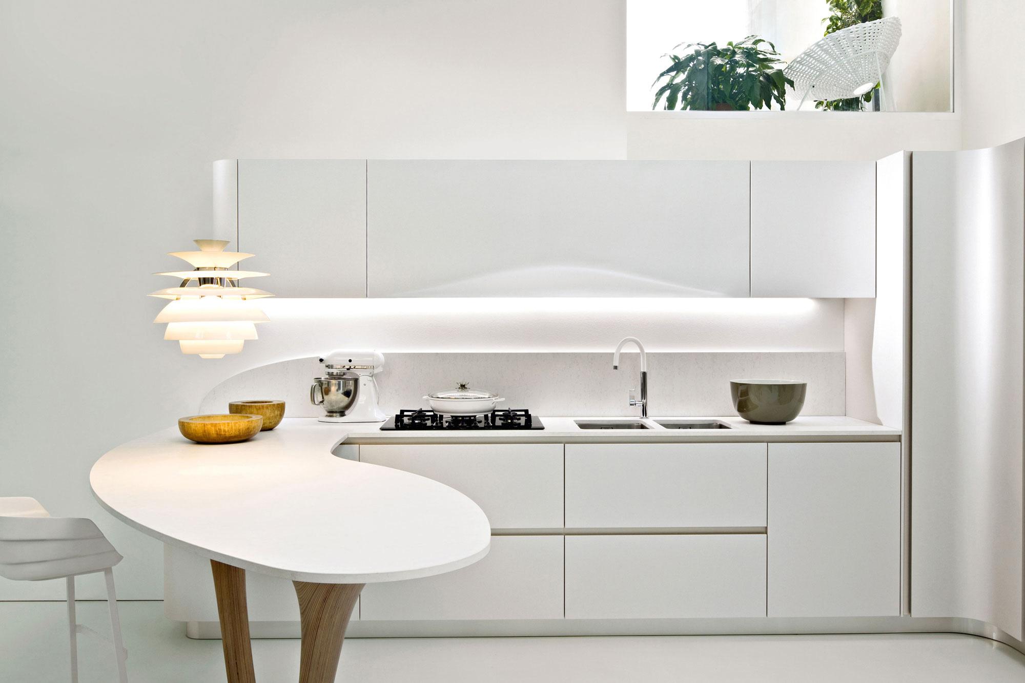 Cucina bianca: cosa scelgo per le pareti? - La Coloratrice